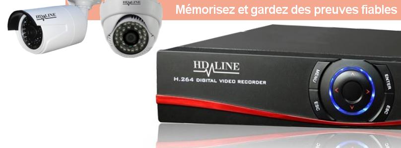 Connection DVR et Caméra de vidéosurveillance bfsat.fr