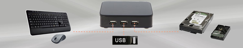 3 Ports USB MAG 410 bfsat.fr