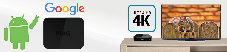 MAG 410 et la ultra haute définition en 4K bfsat.fr