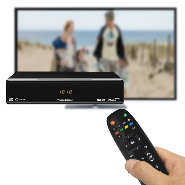 télécommande THOMSON TH804 HD TNTSAT