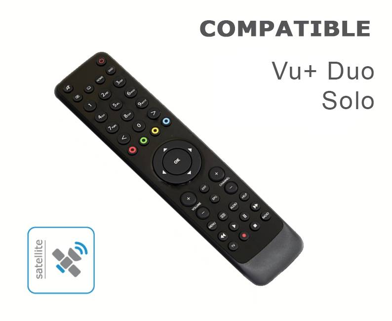 Télécommande compatible VU + 1 2