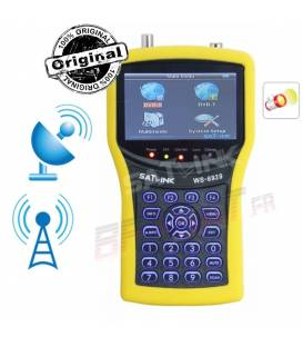 satlink ws-6939 combo terrestrial and satellite satfinder mesurer