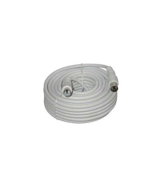 10M M/F Coaxial Cable Extension male female