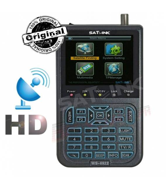 satlink ws-6922 HD satfinder Satellite Mesurer