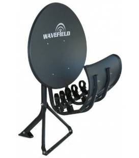 Wavefield Satellite dish MULTI SATELLITE T55 Wave Field Multi Feed