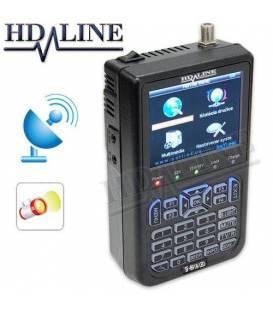 HD-LINE SF-6918 with LED - Satfinder Satellite Mesurer