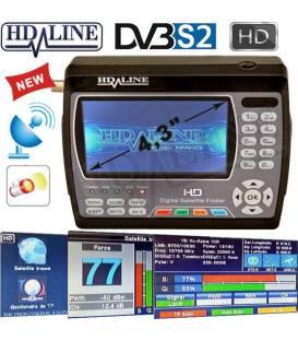 HD-LINE HD-900 ORIGINAL SATELLITE FINDER HD Satellite Mesurer HD