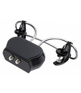 HD-LINE Antenne TV Clip-On UHF Amplifiée