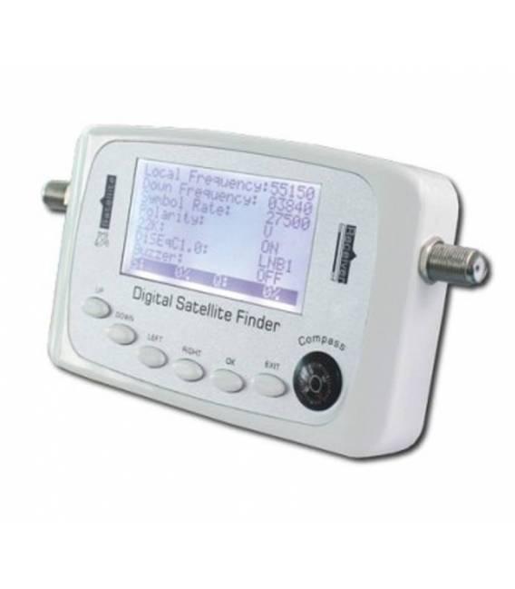SF-500 DIGITAL SATFINDER WHITE