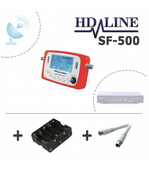 HD-LINE SF-500 DIGITAL SATFINDER SATELLITE FINDER SIGNAL METER