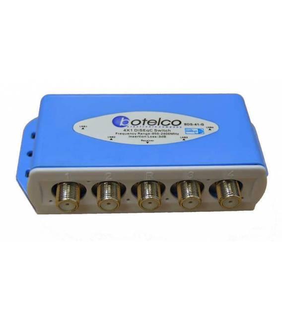 Satellite Diseqc Switch 4/1
