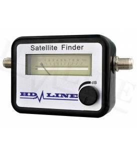 HD-LINE SATFINDER SATELLITE FINDER SIGNAL METER + CABLE