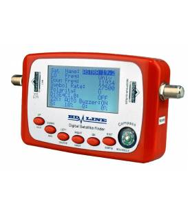HD-LINE SF-500 DIGITAL SATFINDER POINTEUR SATELLITE