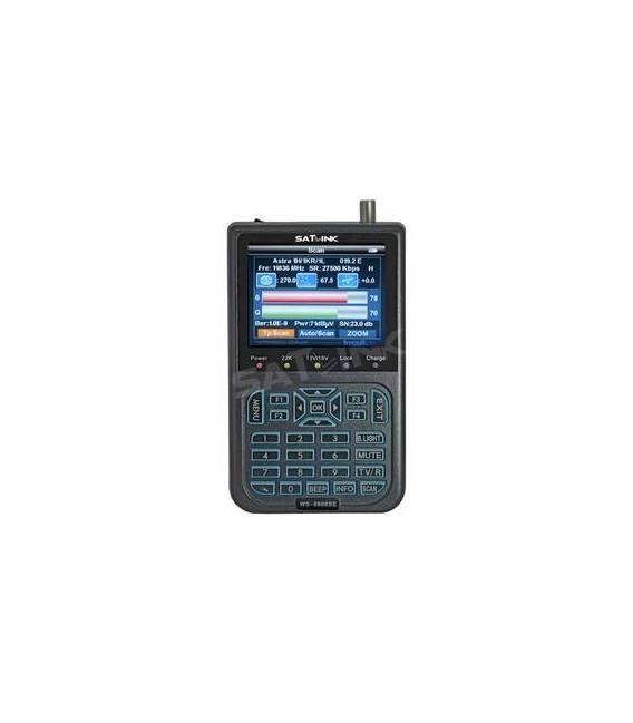 SATLINK ws-6908SE with LED satfinder Satellite Mesureur