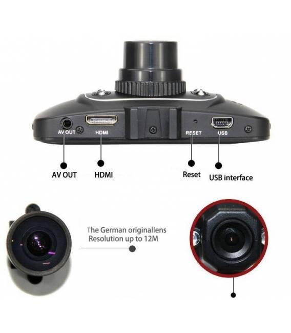 Car Camera HD Car Cam DVR Recorder Night Version HDMI