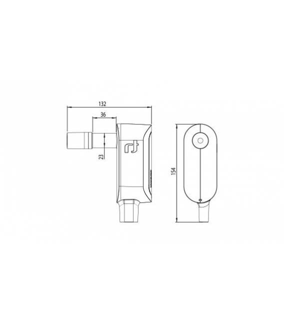 Inverto Dielectric Twin 23mm LNB