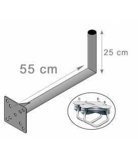 FIXATION L BALCON ANTENNE ET PARABOLE 25X50cm