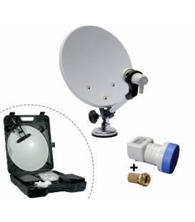 Satellite dish 37Cm Camping + LNB