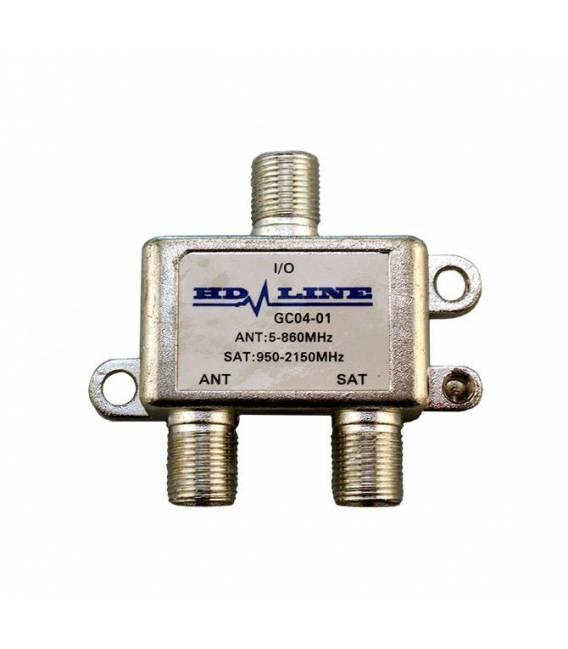 HD-LINE Coupler Decoupler TV SAT INTERIOR TNT Antenna