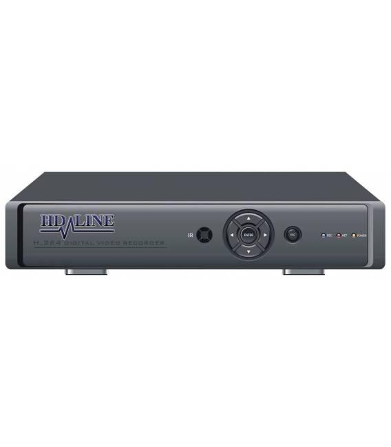 HD-DVR-8 Digital Recorder DVR 8 cameras - for Security Cameras CCTV H.264