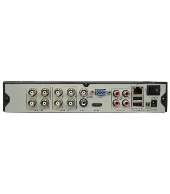 Kit Security Camera DVR 8 x Output back