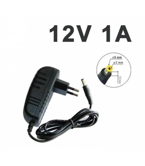 Power Supply 12V 1A 5 mm x 2 mm