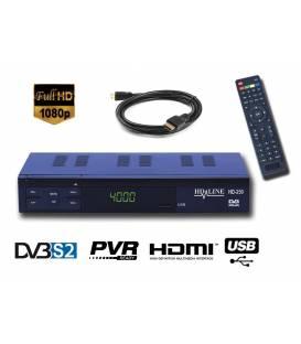 HD-LINE HD-250 Satellite Receiver HD SCART FTA Free Channels