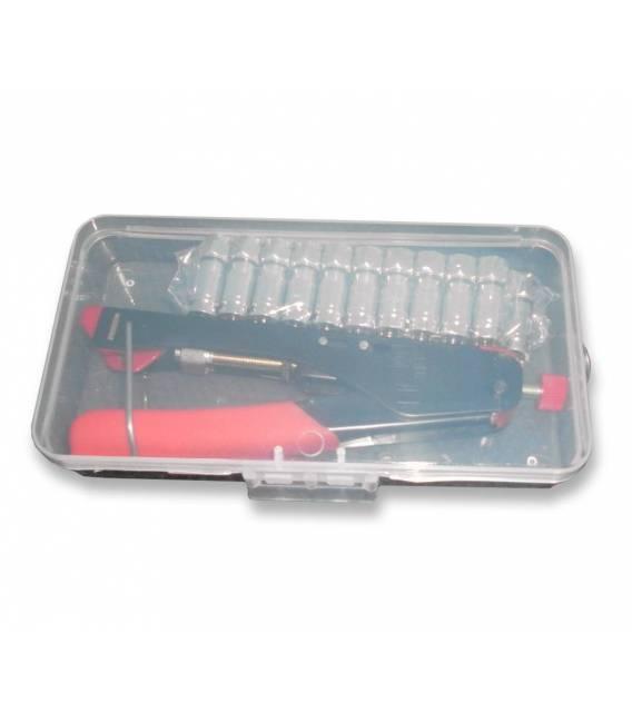 Kit Pince à sertir + Connecteurs F compressés