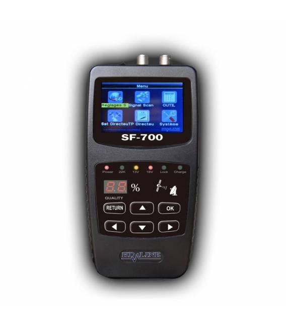 HD-LINE SF-700 POINTEUR SATELLITE appareil de mesure parabole ideal pour camping