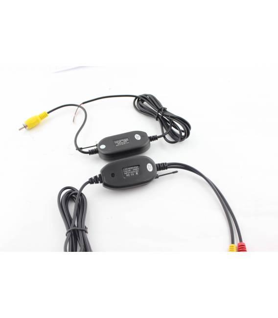 Connecteurs sans fil pour caméras et accessoires voiture