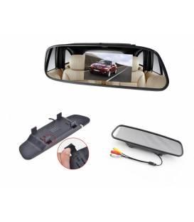 """Car 3.5"""" 4.3"""" TFT LCD Screen Rear View Backup Mirror Monitor for Backup Rear View Camera"""