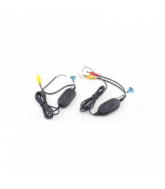 Wireless connectors 2.4 G Transmitter and Receiver for car camera, monitor and car accessories