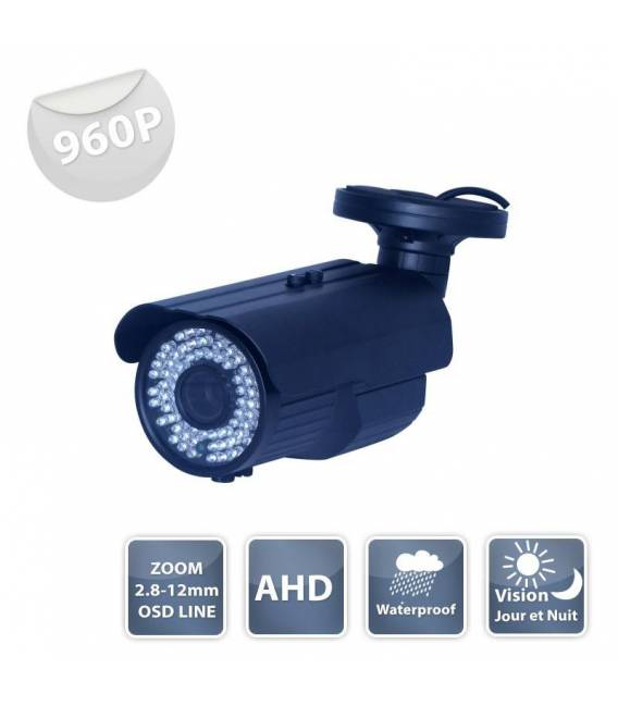 Security Camera WZ-1100 AHD black IR 72 LED