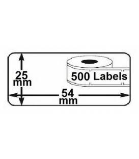 1x roll seiko DYMO 11352 compatible labels writer roll 54mm x 25mm