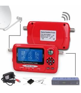 HD-LINE SF-530 Satellite Mesurer DVB-S / DVB-S2 Signal Mesurer + Spectrum Analyser