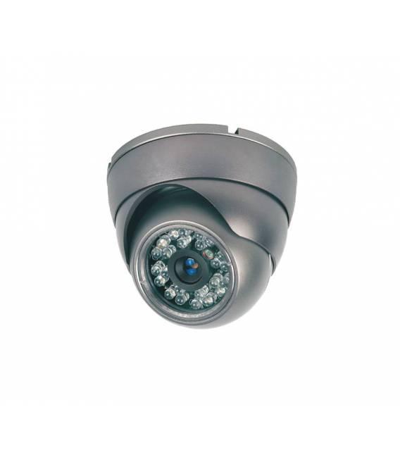 Kit videosurveillance DVR 4 sorties + 4 Cameras domes MD-200G + 4x 20m cable BNC blanc + 1 adaptateur 4en1 + 1 alimentation 5A