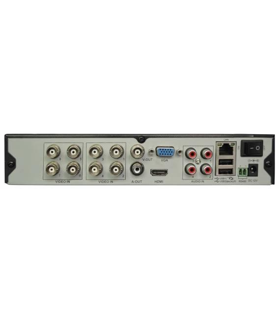 DVR HD-LINE Enregistreur DVR 8 sorties Hybride AHD et IP bfsat.fr