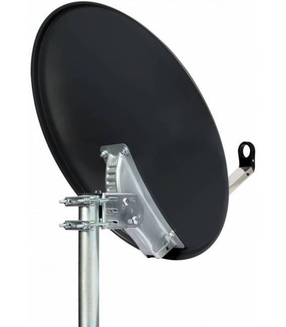 HD-LINE PRO Satellite dish 80cm dark grey