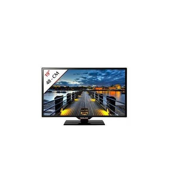 """Redline TV LED Monitor 19"""" 48 cm Full HD LCD TV PC"""