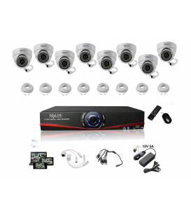 Small Kit 4 IP camera IP 1150DC - bfsat.fr