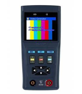 HD-LINE AN-31-M Mesureur de caméra analogique Testeur vidéosurveillance avec multimetre