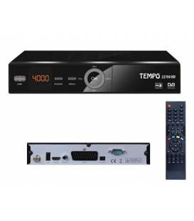 TEMPO 22700 HD Démodulateur satellite FTA HD recepteur parabole