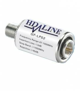 HD-LINE FILTER amplificateur ligne 40dB TERRESTRE DVB-T TNT