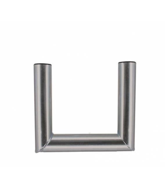 Déport de fixation spécial antenne ou parabole en acier résistant 46mm de diamètre bfsat.fr