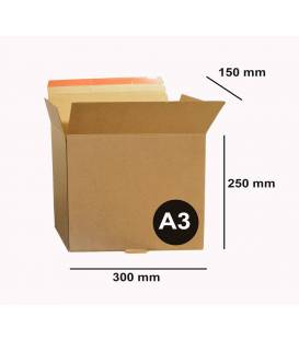 Packaging A3 30 x 25 x 15 cm Carton with adhesive tape