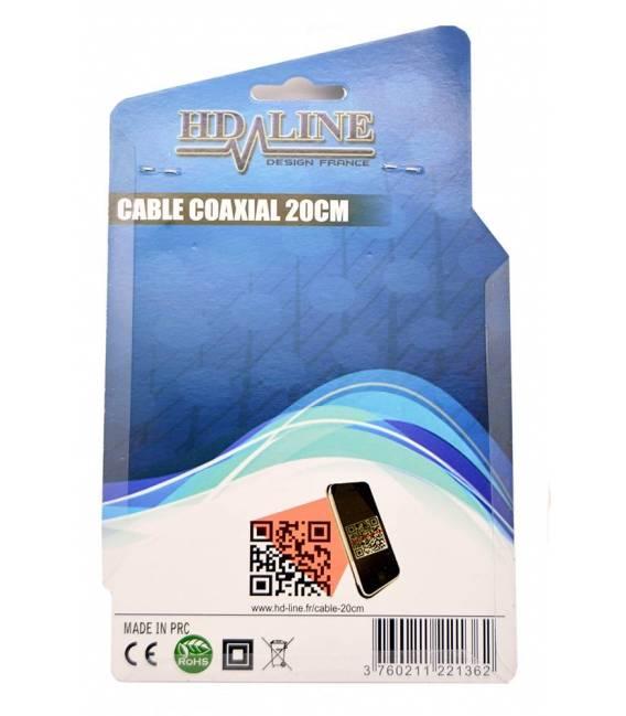 CABLE COAXIAL 20cm pour satfinder