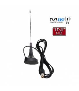 HD-LINE HD-970T Antenne terrestre intérieure TNT HD DVB-T Fiche IEC mâle