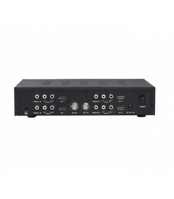 HD-LINE M400 DVB-T Modulateur 4 voies bfsat