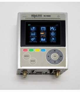 HD-LINE HD-7090S+ Satfinder Pointeur satellite HD DVB-S2 / Testeur Caméras CCTV + Valise de transport et accessoires
