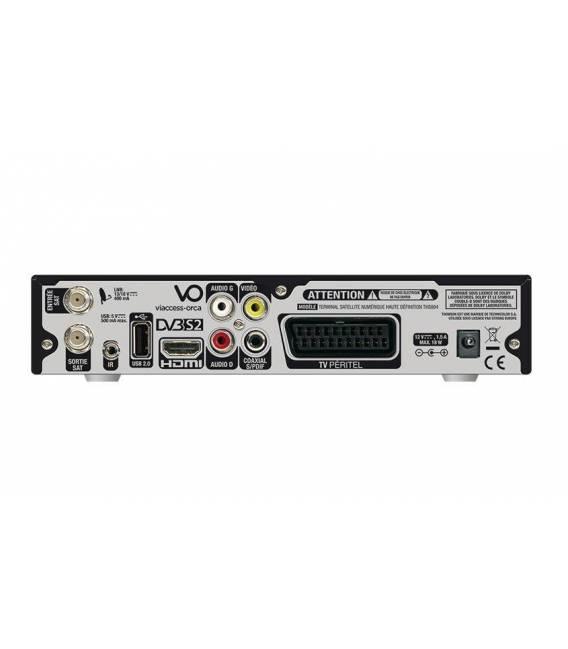 THOMSON THS804 Récepteur satellite HD + Carte TNTSAT (Astra 19,2°)